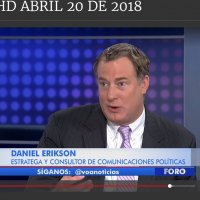 Dan Erikson Interviewed on Voice of America's (VOA) Spanish language program on how international security issues in East Asia will impact the Americas.