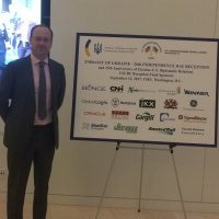 Blue Star Strategies Sponsors 2017 U.S.-Ukraine Business Council Reception with Jeremiah Baronberg.