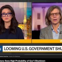 Karen Tramontano Interviewed on Bloomberg TV on the looming federal government shutdown deadline.