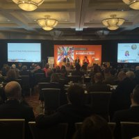Karen Tramontano Speaks at Bankers Association for Finance and Trade (BAFT) Conference on Impact of Trade Policy Developments at 28th BAFT Annual Conference on International Trade in Chicago.
