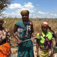 Blue Star Strategies Client Mozambique Renewables Women Partner Farmers in Micolene, Nampula Province.